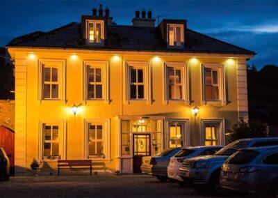 Avonmore House at night