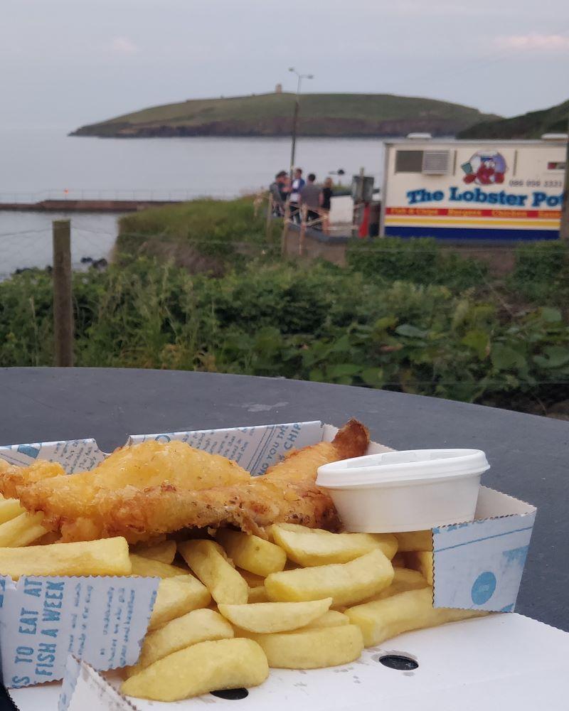 Knockadoon Walk and The Lobster Pot