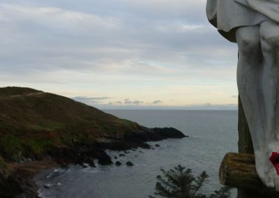 Stations of The Cross at the end of the Knockadoon Cliff Walk