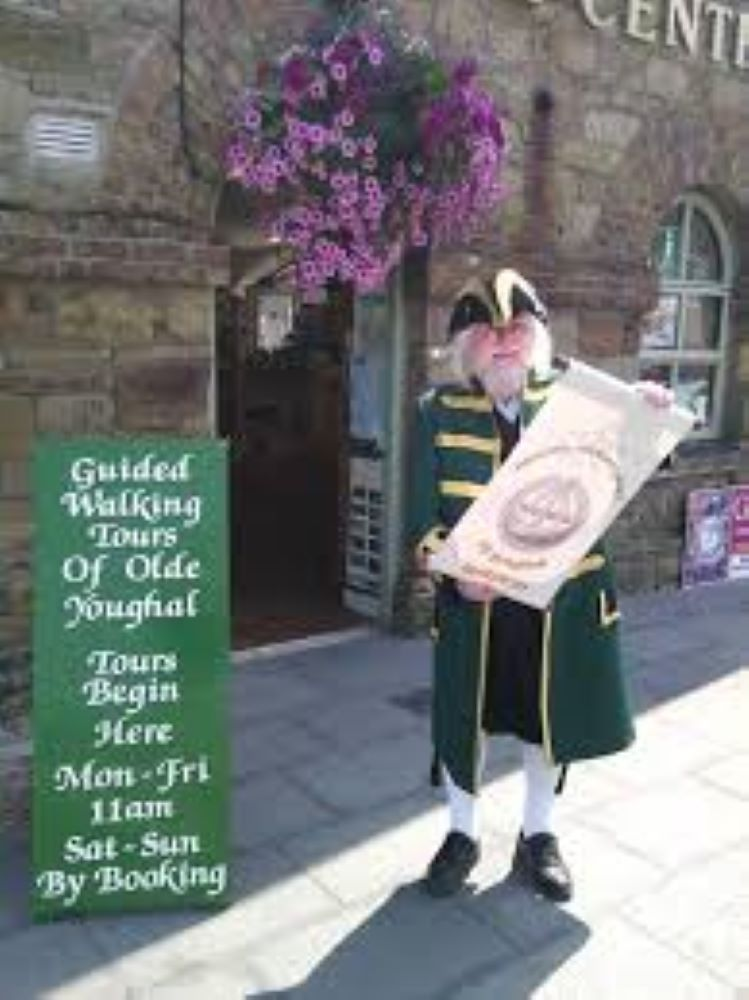 Youghal's Town Crier